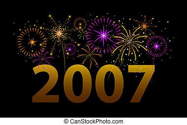 heureux, 2007!