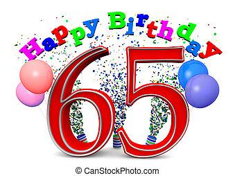 heureux, 65th, anniversaire