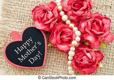 heureux, card., jour, mères