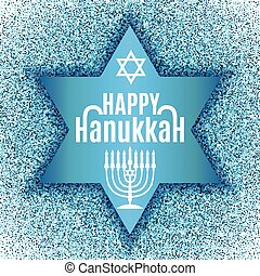 heureux, card., salutation, hanukkah