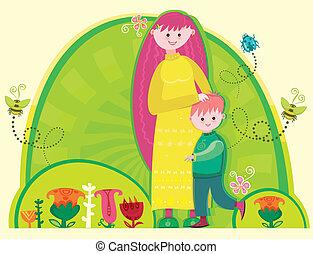 heureux, day!, mères