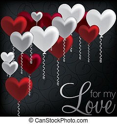 heureux, day!, valentine