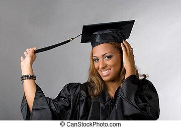 heureux, diplômé