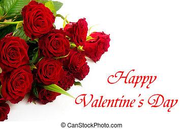 heureux, jour, valentines
