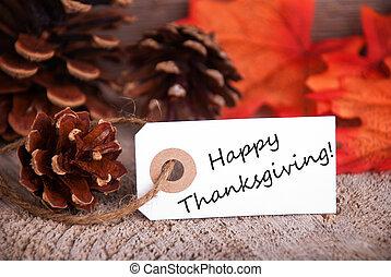 heureux, salutations, thanksgiving