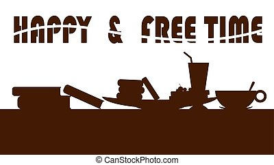 heureux, temps libre