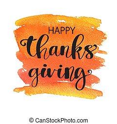 heureux, thanksgiving, postcard.