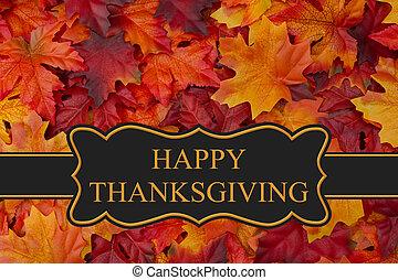heureux, thanksgiving, salutation