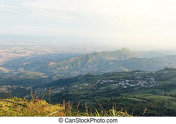 heuvel, aanzicht