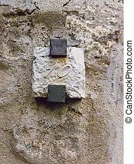 Hewn Stone Plaque Number 10