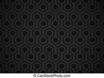 hexágono, papel parede