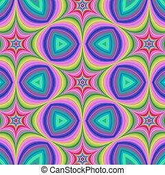 hexa, stella, colorito, fondo