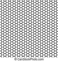 Hexagon as background