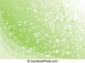 hexagon background - Green background with transparent...