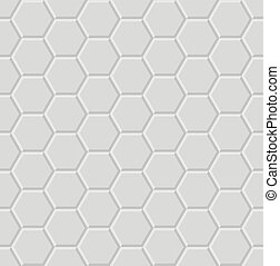 hexagon light 3d geometric pattern