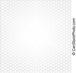 Hexagon White Background - Hexagon pattern textured for...
