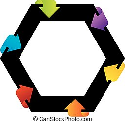 Hexagonal design element