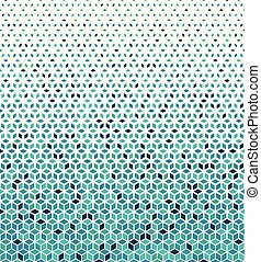 Hexagonal Halftone Pattern. Abstract vector background with...