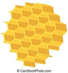 hexagonal, matriz
