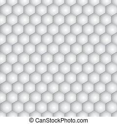 hexagonal, pattern., seamless