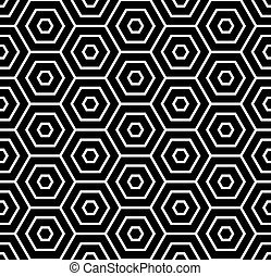 Hexagons texture.