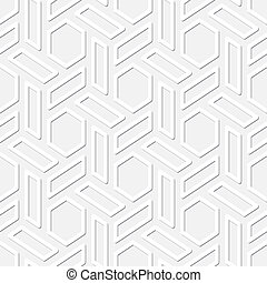 Hexagons vector seamless texture