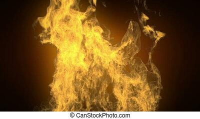 hi detailed alpha mated fire