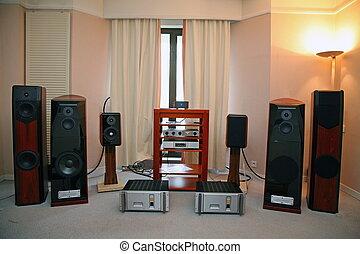 hi-end, systém, reprodukce zvuku