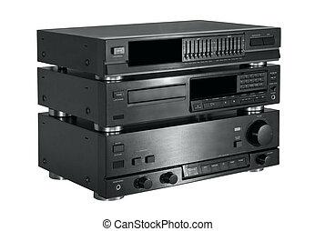 hi-fi, audio, sistema