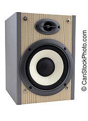 hi-fi equipment - isolated speaker