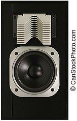 Hi-Fi Loud speaker on a white background