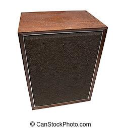 Hi-Fi Loudspeaker - Home hi-fi loudspeaker from seventies. ...
