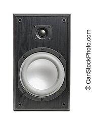 Hi-fi Speaker Isolated on White - Hi-fi speaker isolated on ...