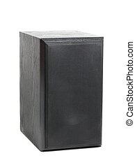 Hi-fi Speaker Isolated on White