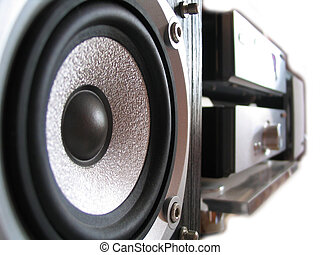 Hi-Fi - Foucs on near speaker cone