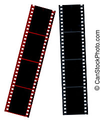hi-res, film, negatieven