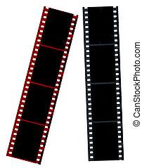 hi-res, negatieven, film
