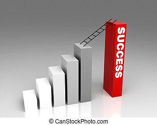 way to success - hi res rendering, way to success