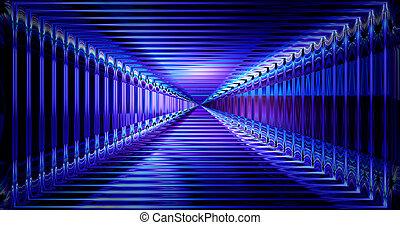hi-tech, 概念, 科学, 抽象的, rendering., cyber, フィクション, バックグラウンド。, 未来, デザイン, 技術, 未来派, 3d