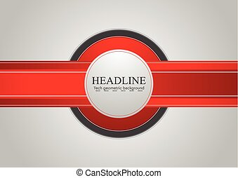 Hi-tech abstract corporate vector background
