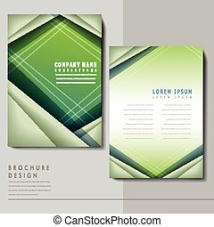 hi-tech background design for poster template in blue