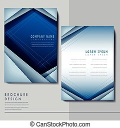 hi-tech background design for poster template
