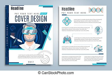 Hi-Tech Presentation Cover Design