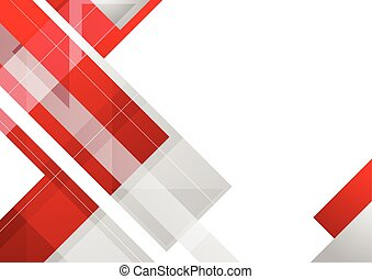 Hi-tech red corporate abstract background