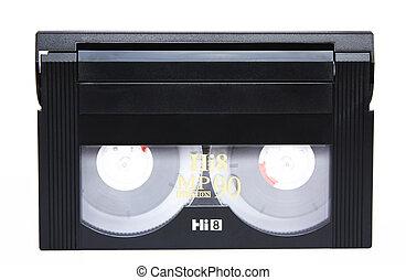 A 90 minutes Hi8 tape