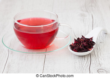 hibisco, infusión