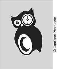 hibou tatoos noir oiseau blanc hibou tatoos clipart vectoriel rechercher illustration. Black Bedroom Furniture Sets. Home Design Ideas