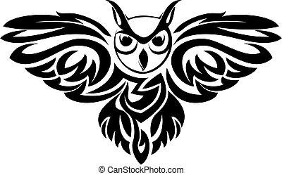 hibou, symbole