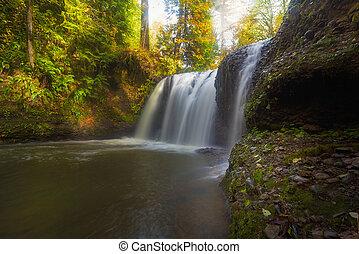 Hidden Falls in Rock Creek