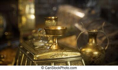 Hidden Treasures in the Dark - hidden golden treasures in...